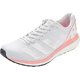 adidas Adizero Boston 8 Shoes Women, dash grey/footwear white/glory pink